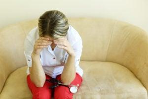 Depressed Nurse
