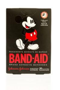 Disney Band Aid