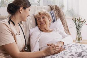 Nurse Cancer Patient