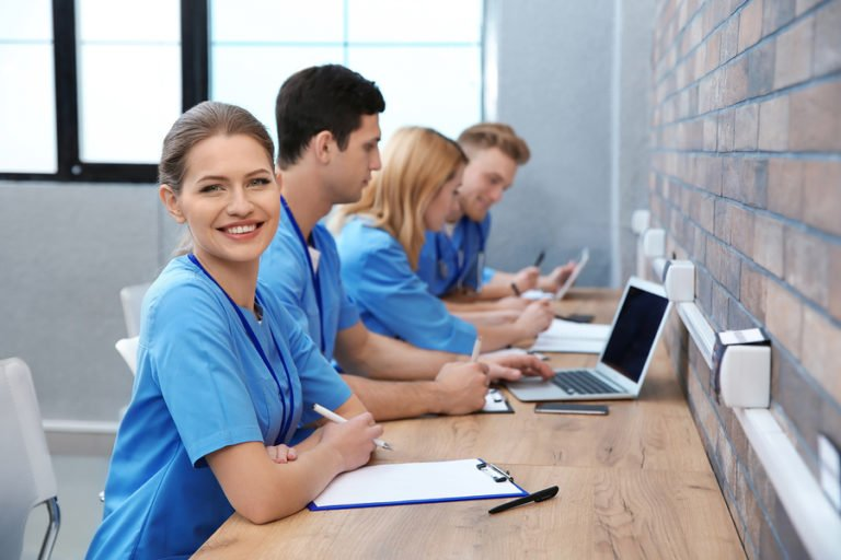 NCLEX Course Review Nurse Studying