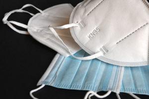 White KN95 Respiratory Masks